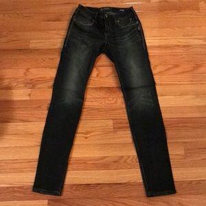 Silver Jeans Suki Fluid Dark Skinny Jeans 26/31